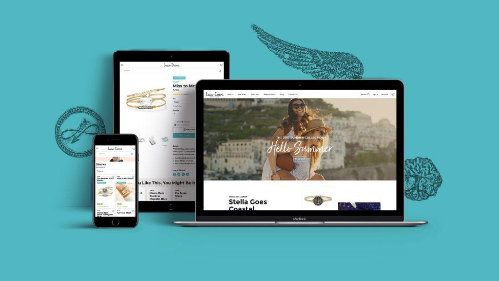 Luca+Danni E-commerce Website Design and Development